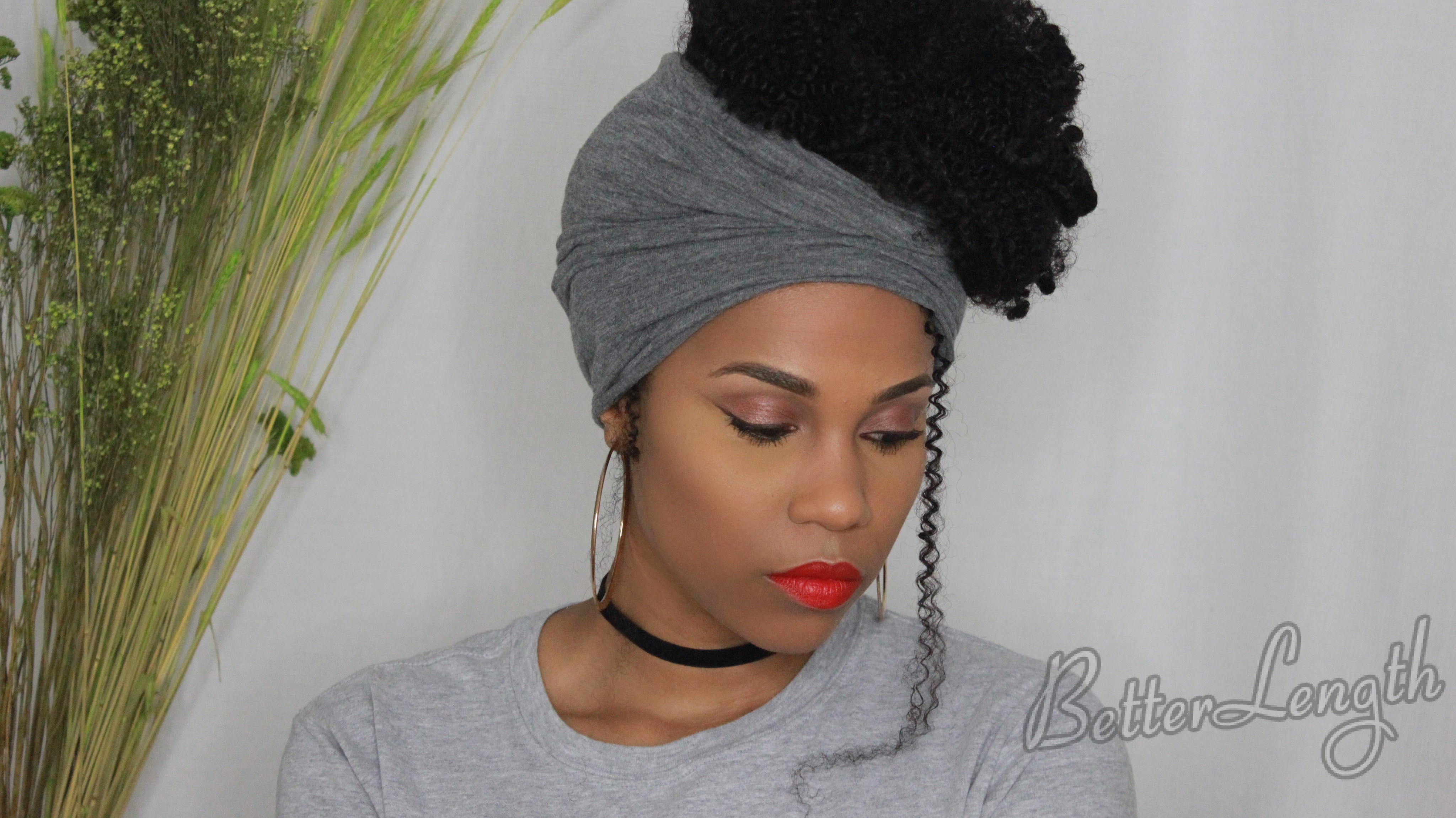 IMG 6694 1 - 5 Ways To Style Afro Kinky Curly Clip-ins For Naturals