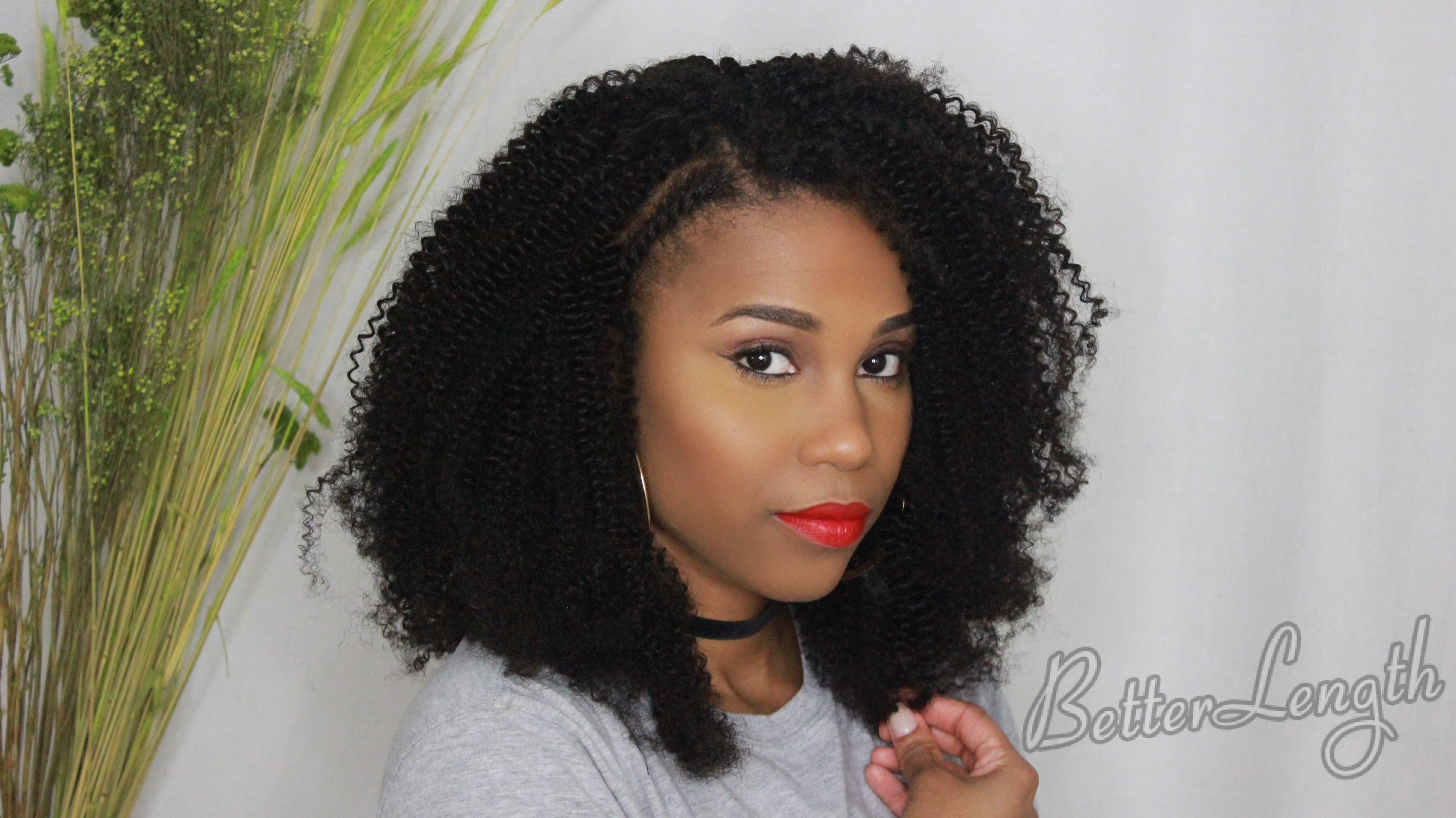 IMG 6698 3 - 5 Ways To Style Afro Kinky Curly Clip-ins For Naturals