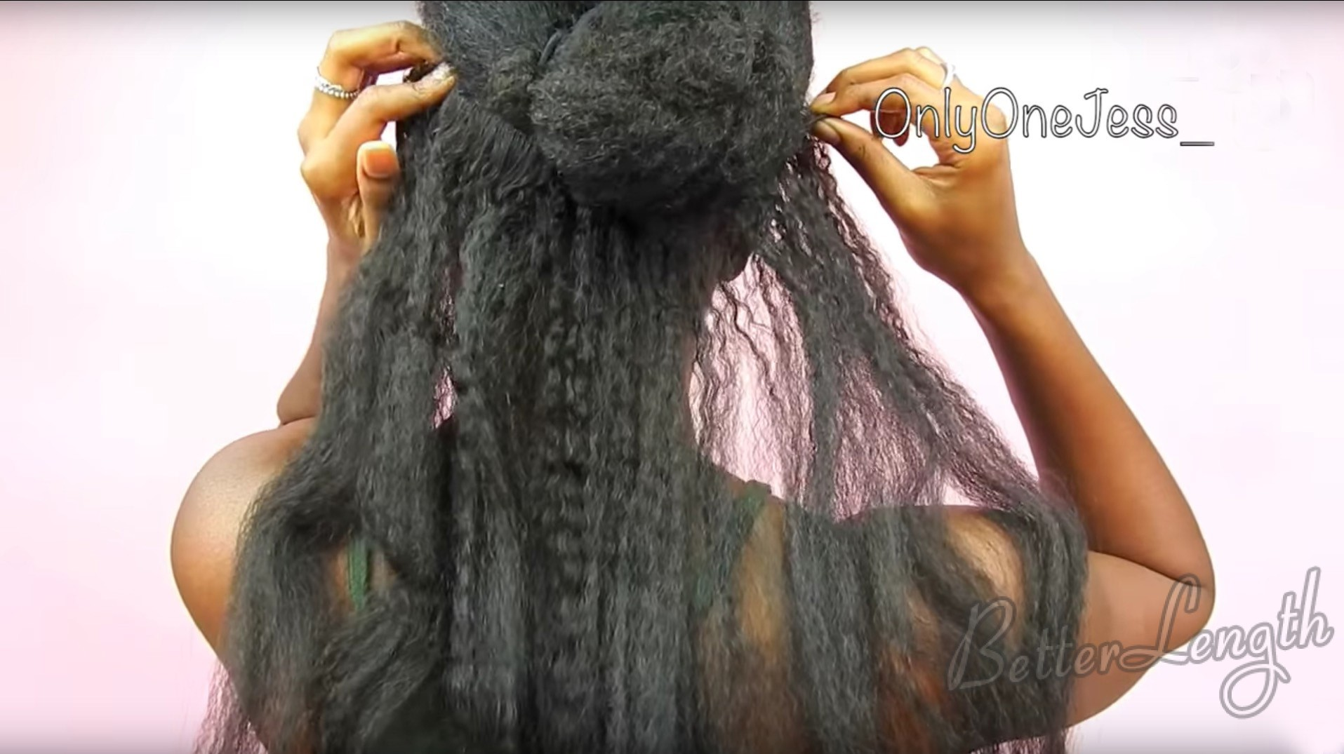 howtoinstallclipins 1 - Halo Braid w/ Clip ins ft. Better Length