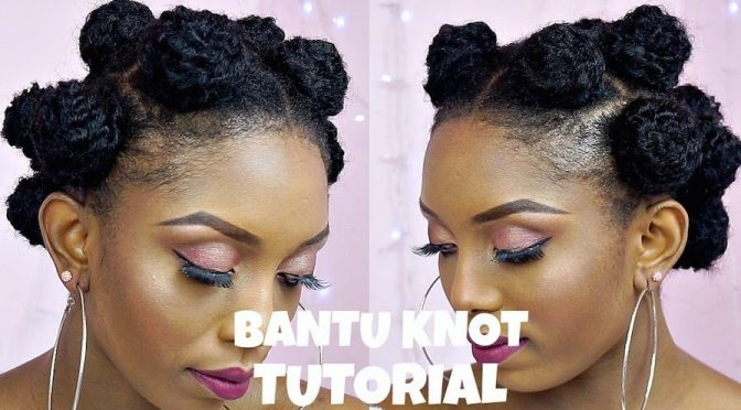 Bantu Knots Natural Hair Before And After