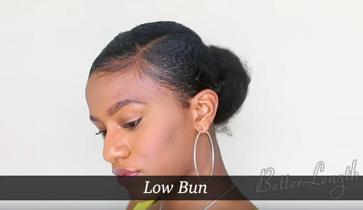 lowbun - Top 4 Quick and Easy Bun Hairstyles for Back to School
