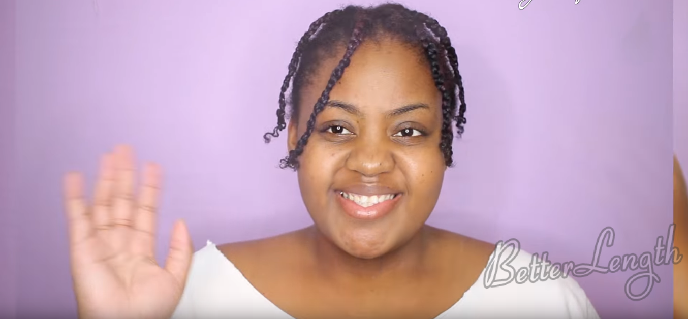 How to Do A Bomb Protective Style on Your Natural Hair_2