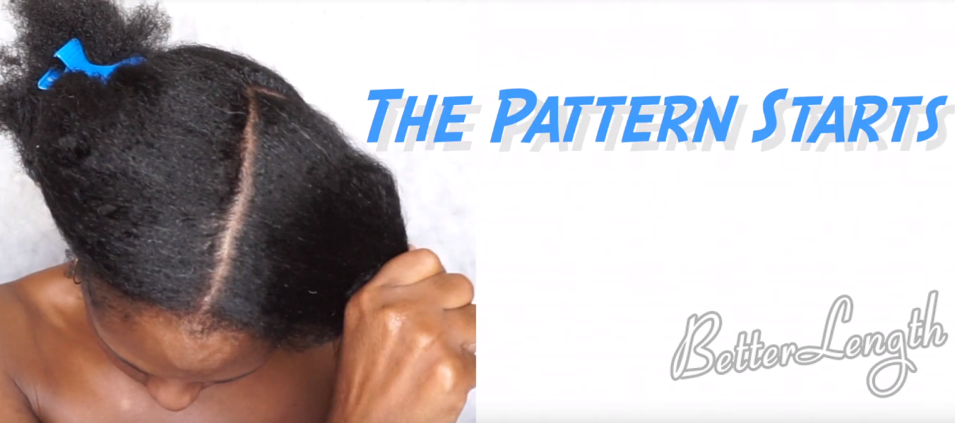 how to do a natural hair protective style with clip ins_4