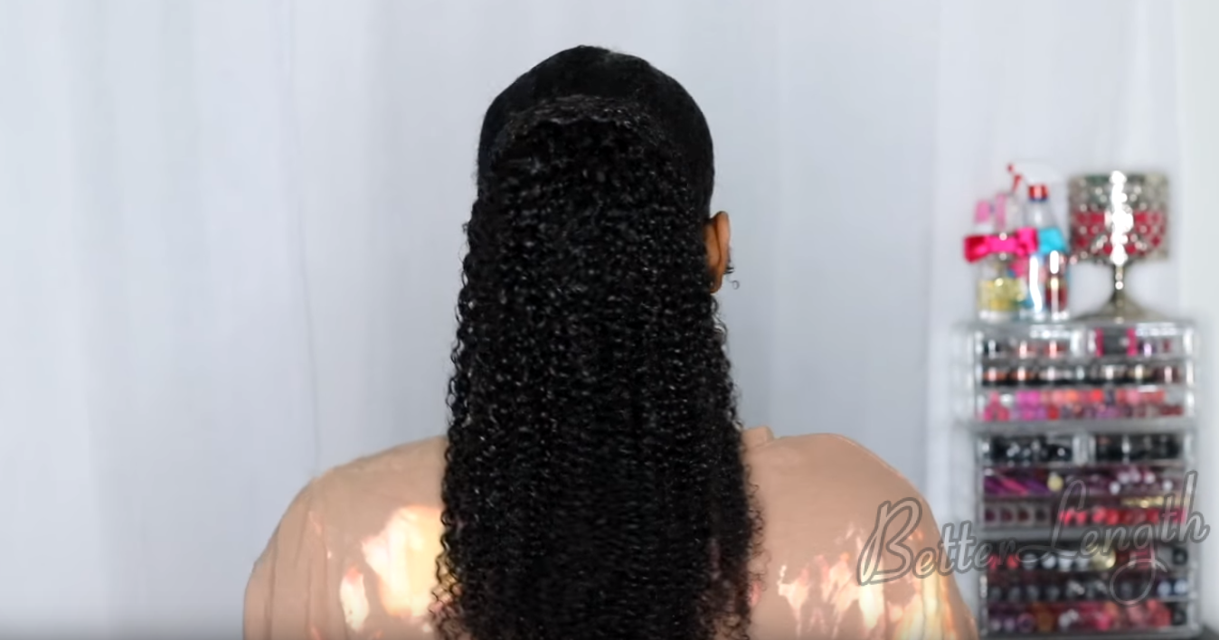 Most Natural Looking Kinky Curly Clip-ins Ever| 4 Styles| Tutorial_16