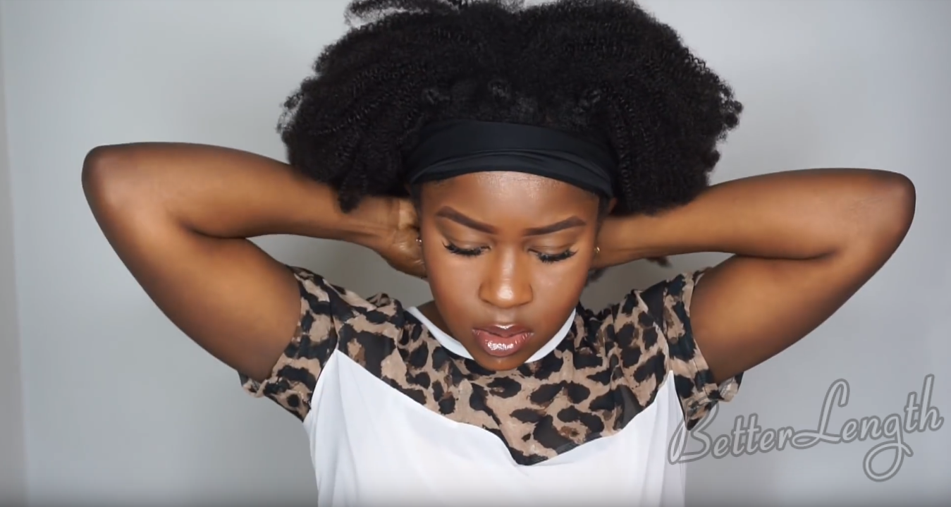 How to Do A Quick And Easy Style using Betterlength Kinky Coily Clip-ins_17