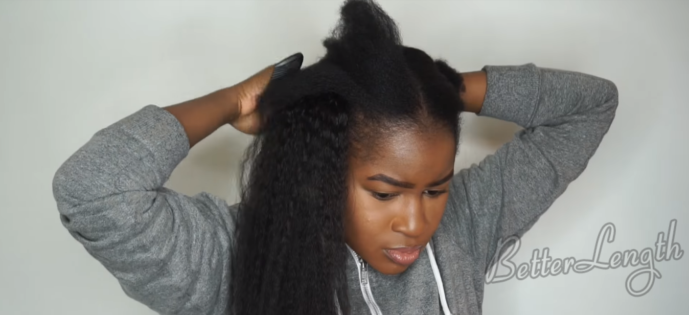 5 21 - How to Do Feed In Braids Without Using Braiding Hair On Short 4c Natural Hair