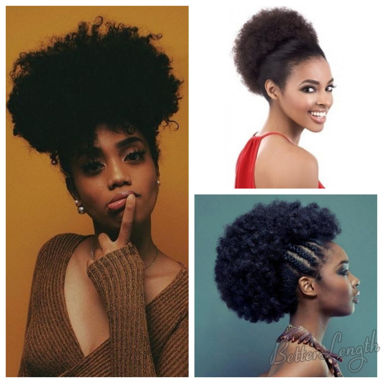 Short Afro Styles For Natural Hair