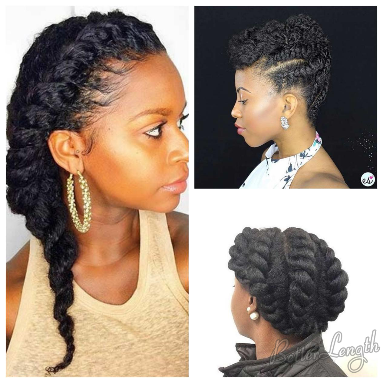 natural flat twist style