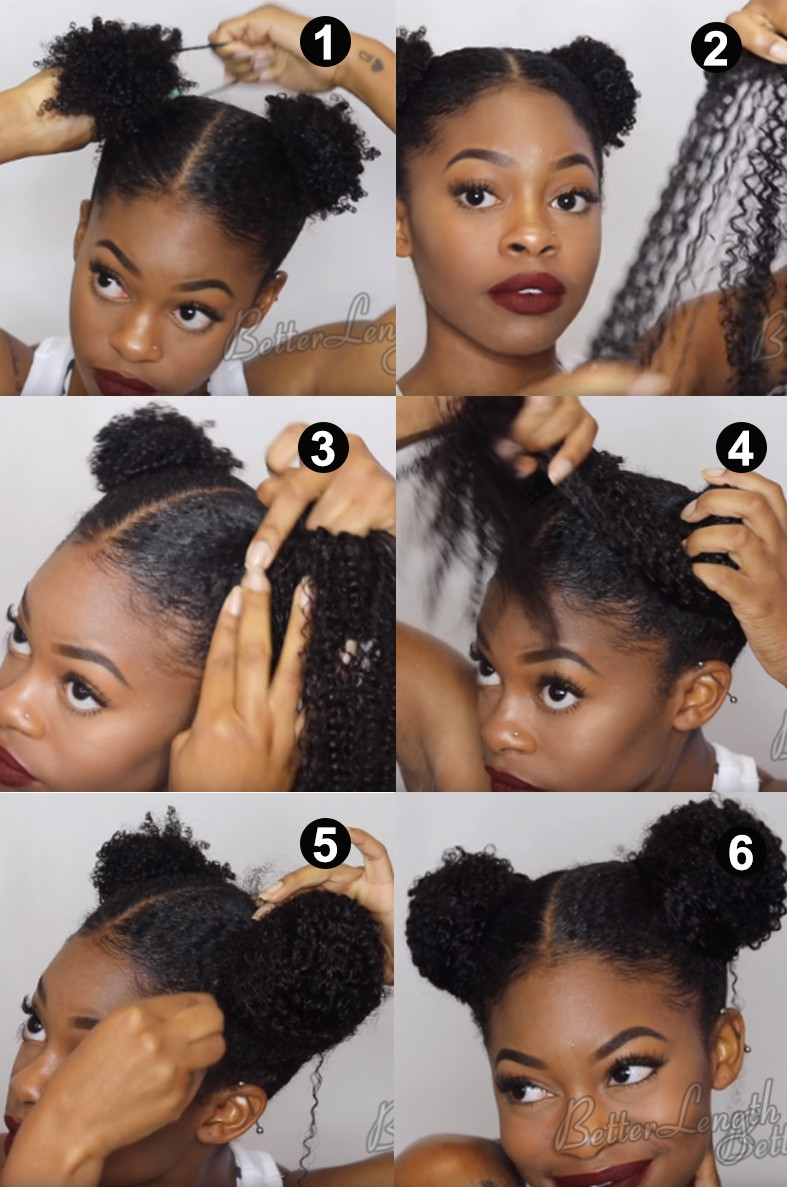 5 Trendy Summer Natural Hairstyles You Must Be Try Using Your Textured Clip Ins Betterlength Hair