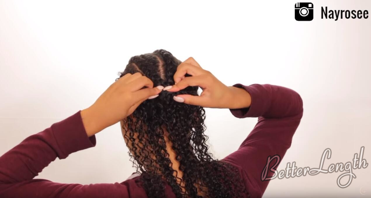 11 - How to Create and Slay The Wet Look Hairstyle ft. BetterLength Clip Ins