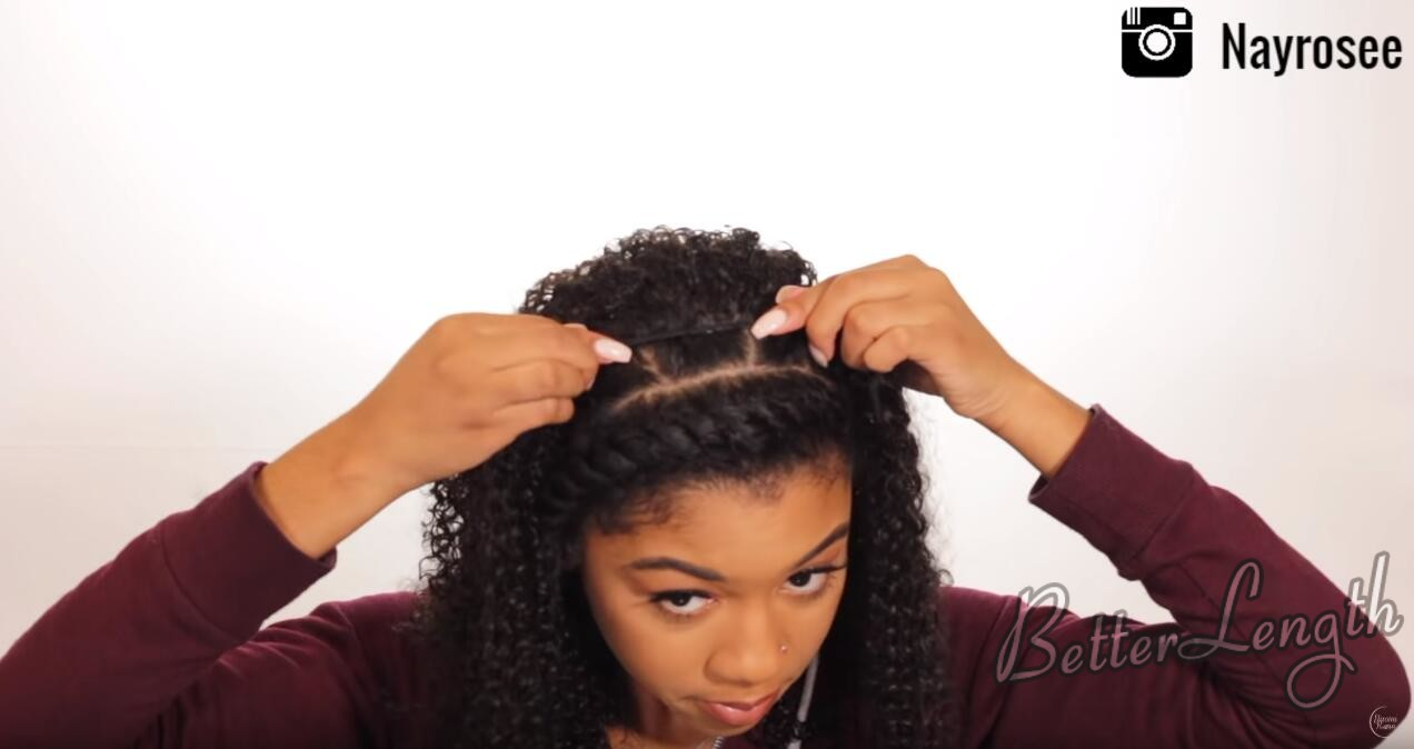 14 - How to Create and Slay The Wet Look Hairstyle ft. BetterLength Clip Ins