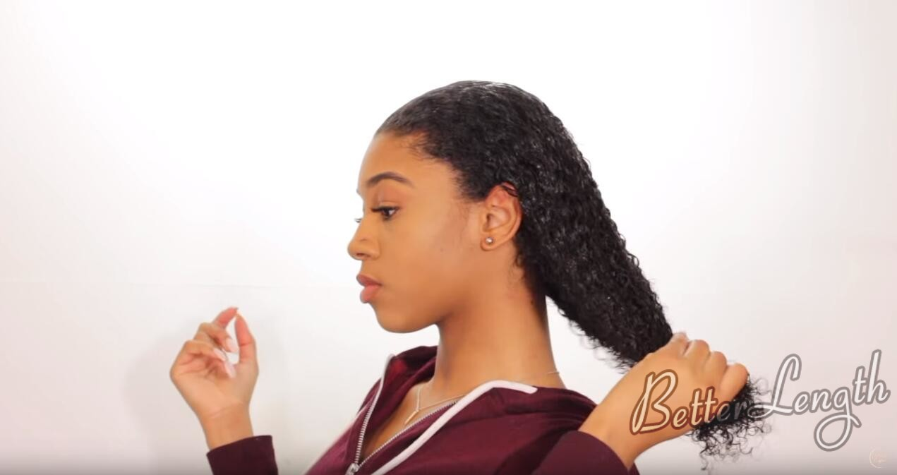 24 - How to Create and Slay The Wet Look Hairstyle ft. BetterLength Clip Ins