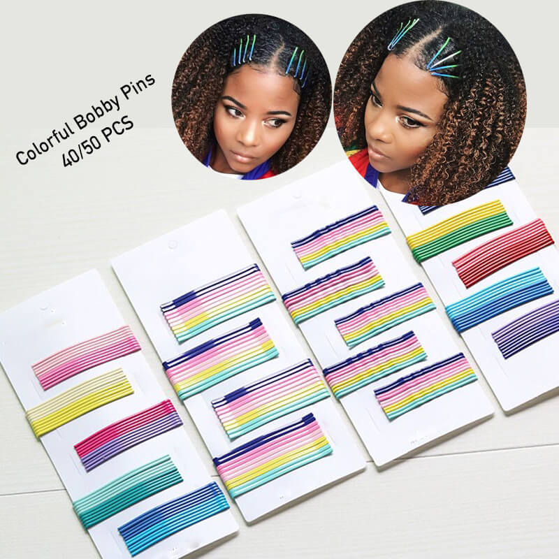 Colorful Bobby Pins (40/50 PCS)