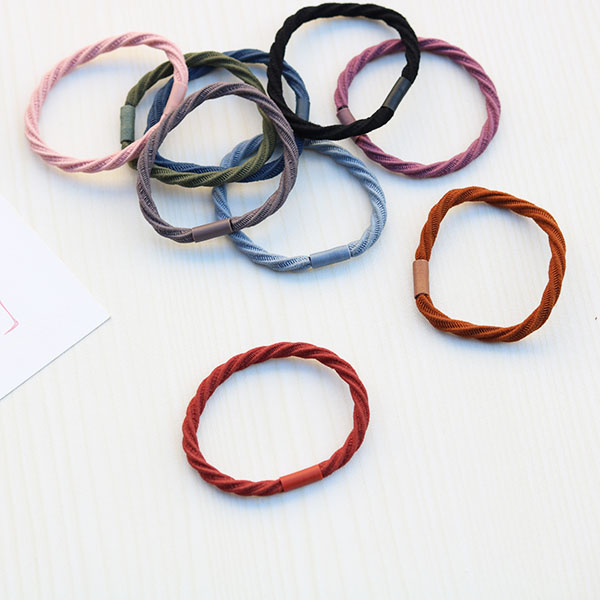 Colorful High Quality Ponytail Holders [accessories]