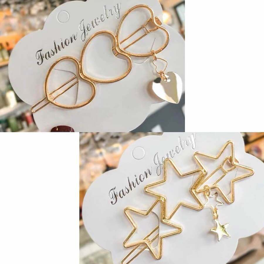 Fashion Gold Bobby Pins [accessories]