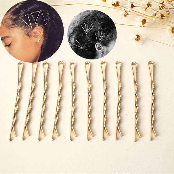 Gold Bobby Pins (10 PCS)