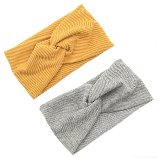 Solid Color Cotton Fabric Headband