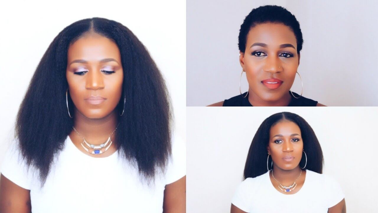 Clip-Ins That Blends Perfectly With Short 4C Hair