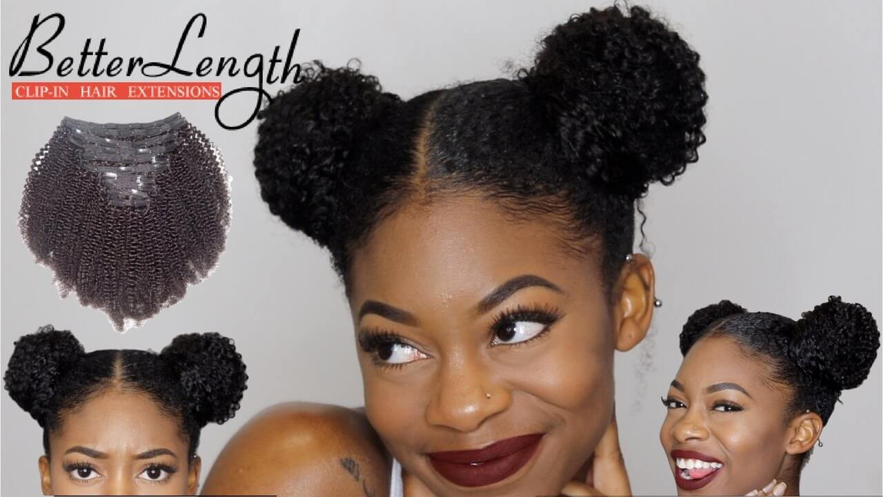 EASY SPACE BUNS TUTORIAL