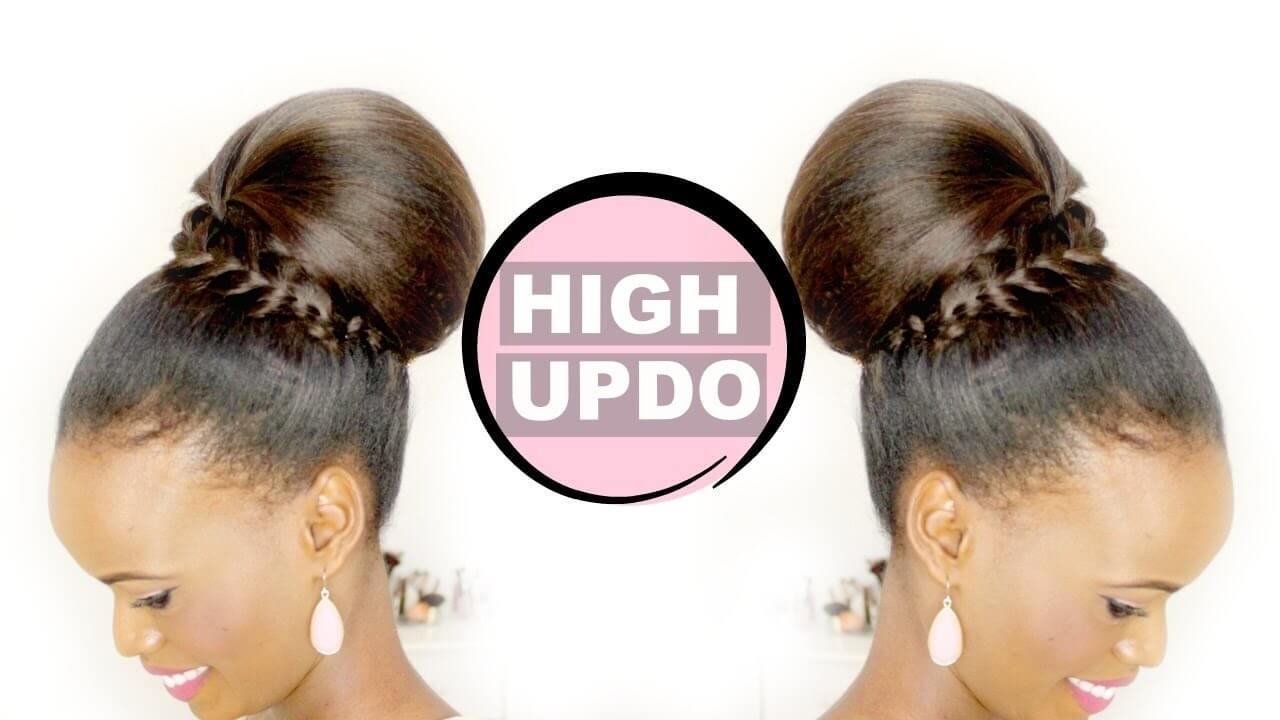 HIGH UPDO | HAIR TUTORIAL FOR MEDIUM TO LONG HAIR