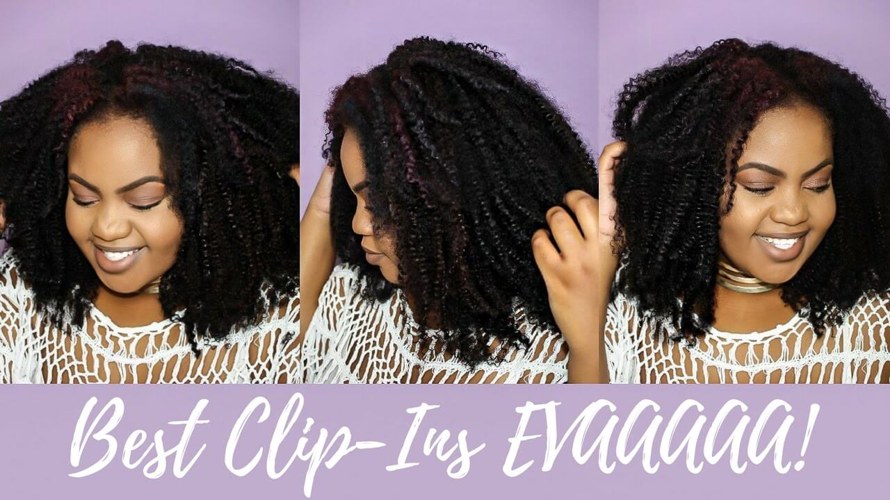 How to make a protective sytle using clip ins (Cornrow Method)