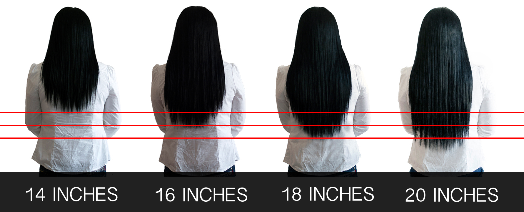 Coarse Yaki Clip In Hair Extensions Straightened Natural Hair