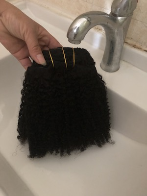 how to care for natural hair step1