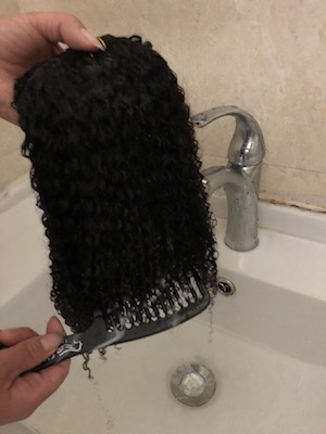 how to care for natural hair step2