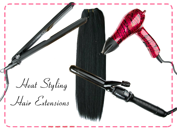heat styling - Clip Ins or Wig? 5 Benefits of Clip Ins Hair Extensions