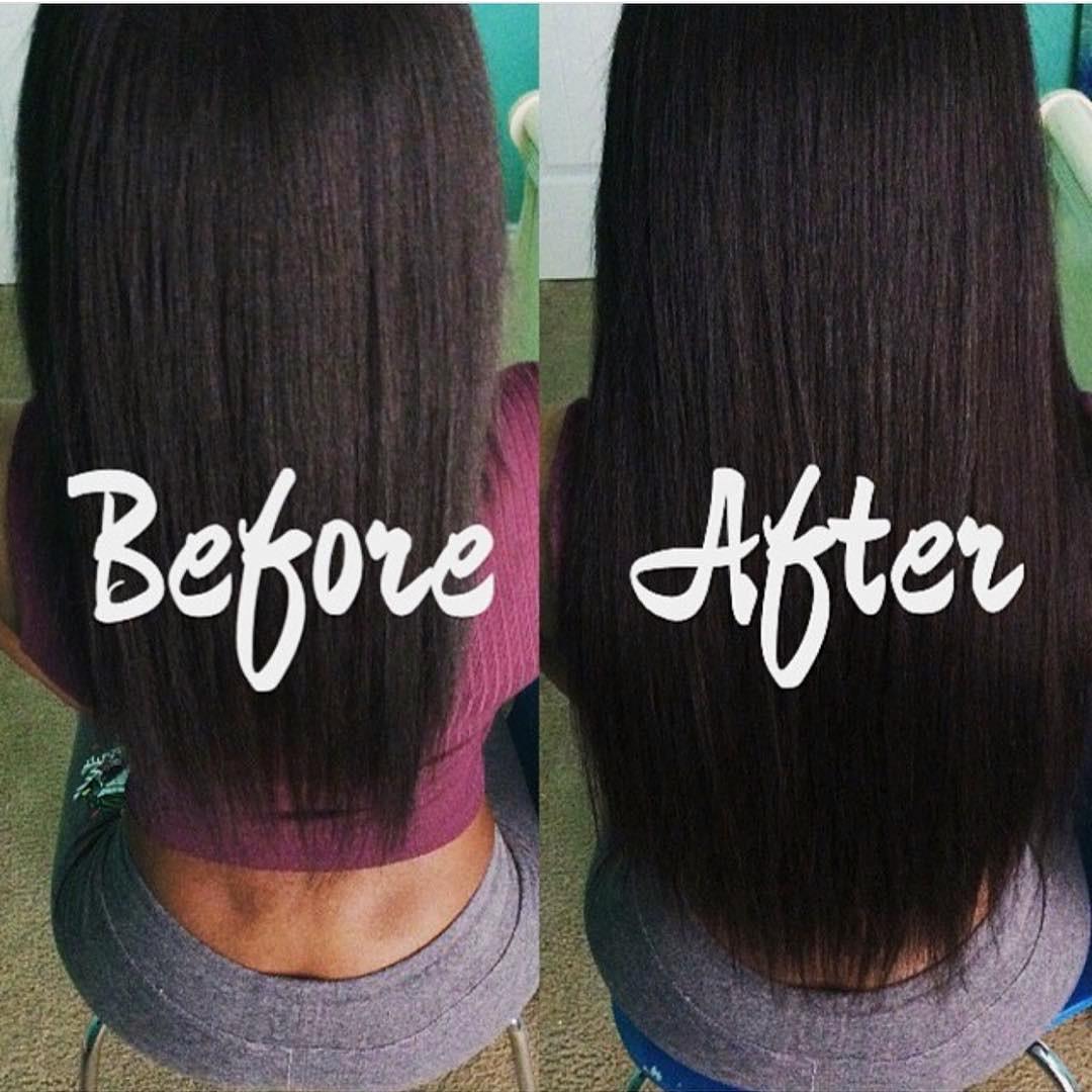 Light Yaki Clip In Hair Extensions Relaxed Hair Betterlength